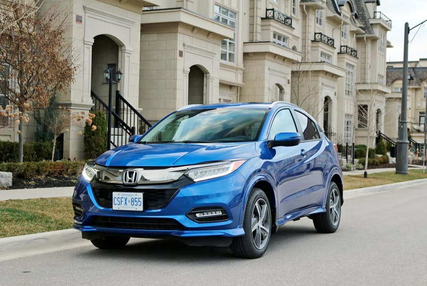 The 2021 Honda HR-V Touring is both practical and flexible. Postmedia News