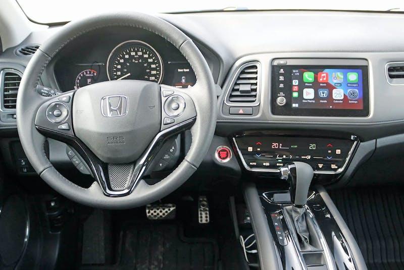 The 2021 Honda HR-V Touring's cabin features classy materials. Postmedia News - POSTMEDIA