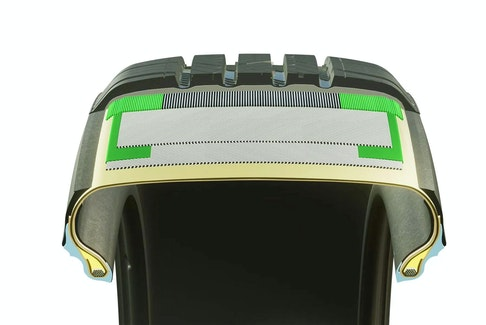 Nokian Tyres One are built using bulletproof vest technology to create a reinforced passenger car tire that is 20 per cent less likely to puncture when encountering a road hazard. Contributed image