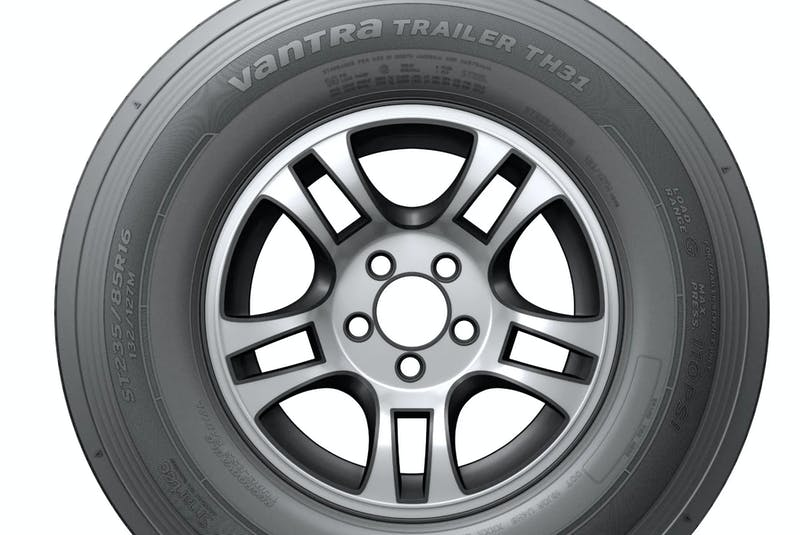 Hankook's Vantra trailer tires are optimized for heavy-duty performance. Contributed photo  - POSTMEDIA