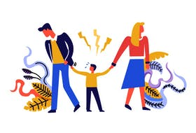Divorce is hard enough on children without one parent's ongoing anger fuelling insecurity.