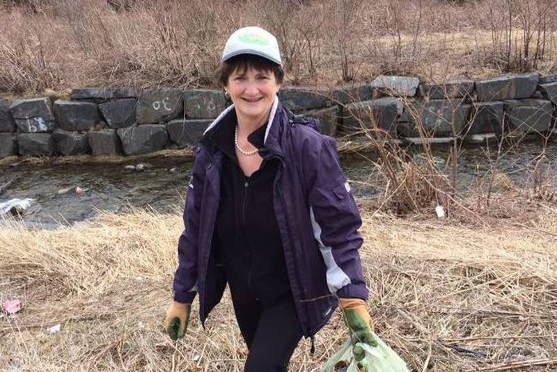 Joan FitzGerald, who has volunteered to clean up litter along the Virginia River Trail and Grand Concourse in St. John's for many years, is disgusted by the number of cigarette butts she's seen behind Pleasantview Towers long-term facility in the east end of the city. — SaltWire Network File Photo