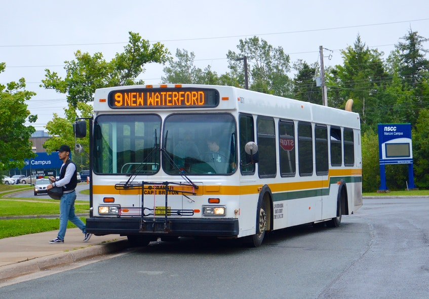 """CBRM Mayor Amanda McDougall says the municipality needs to commit to a plan before the start of 2023, """"because the federal government said they're going to stop funding diesel-fueled buses."""