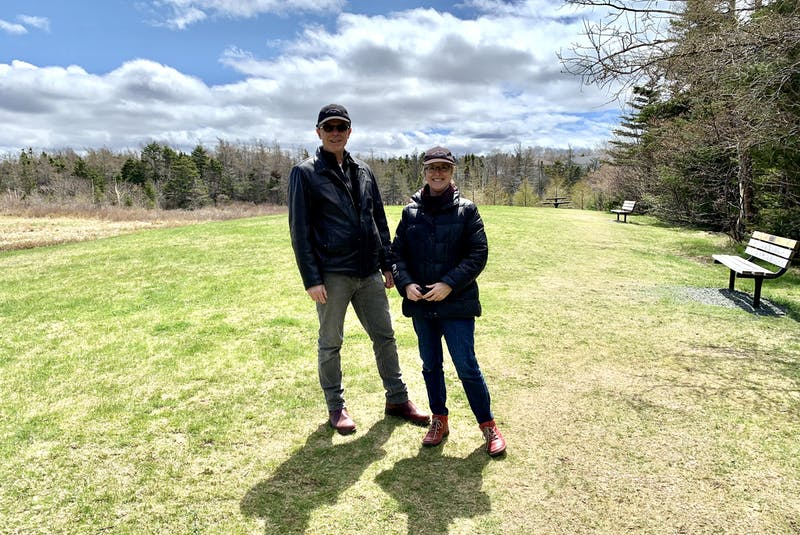 Geoff and Elizabeth Kearley are members of the Chamberlains Action Committee, which played a major role in creating Chamberlains Park in Conception Bay South. Geoff is the chairperson and Elizabeth is a director.— Rosie Mullaley