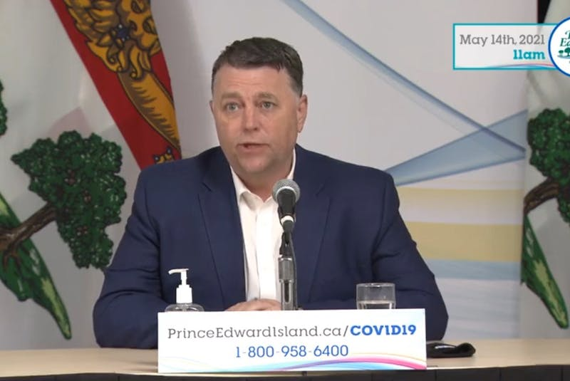 P.E.I. Premier Dennis King expressed frustration on Friday that some people are not following public health guidelines. - Contributed