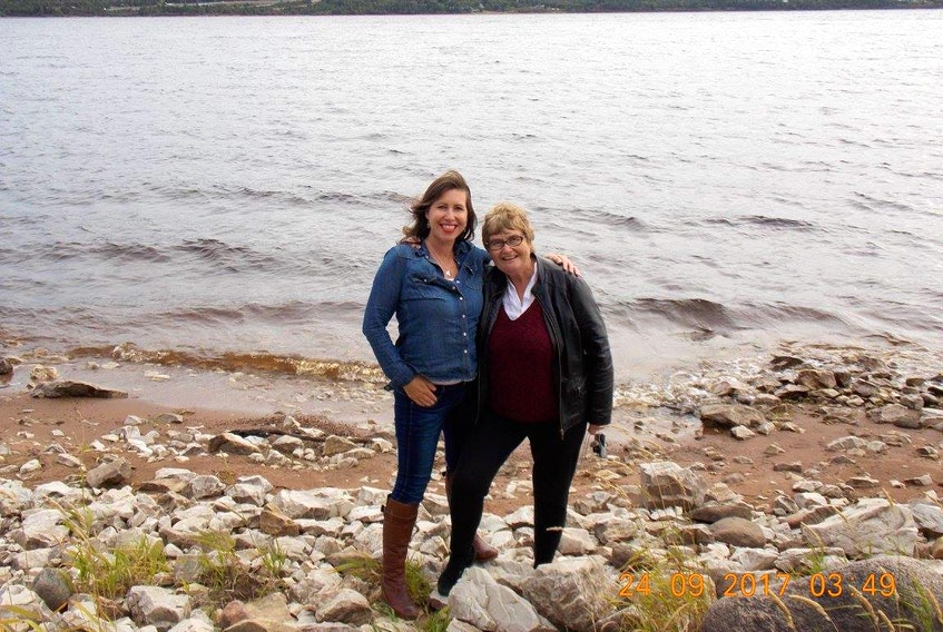 Jean Young, right, and her daughter Sara Young are concerned with the development of the Deer Lake Municipal RV Park and Campground from both a regulatory and environmental perspective.