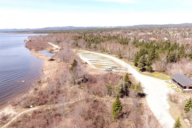 The Deer Lake Municipal RV Park and Campground at the start of beach cleanup and renovations in 2019. Facebook Image from the Deer Lake Municipal RV Park and Campground. - Contributed