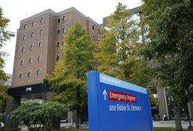 Nine patients on the 8th floor of the Halifax Infirmary have tested positive for the virus over the last few days. They have been moved to the hospital's COVID ward. - Tim Krochak / File