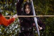 Yvonne Chapman as Zhilan in CW's Kung Fu. Episode 101. Photo by Kailey Schwerman/2021 Warner Bros. Entertainment