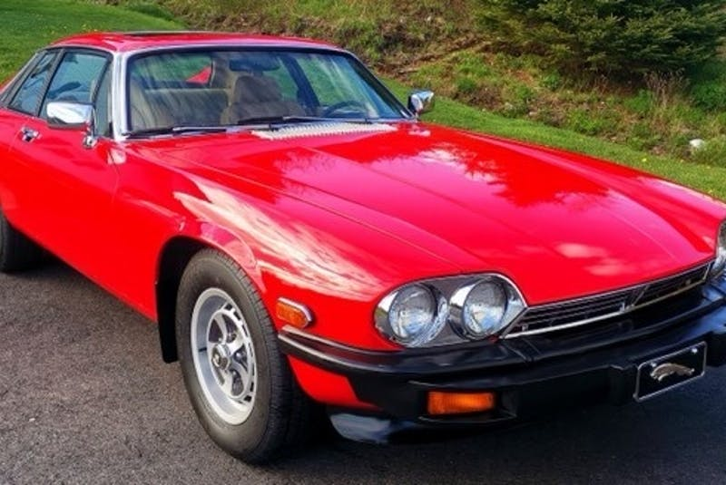 """This 1979 Jaguar is owned by Alex Pittman of Lunenburg, N.S. It's the only classic car he owns, but says his family """"lives and breathes"""" cars; they own a car wash and detail shop in the area. - Contributed"""