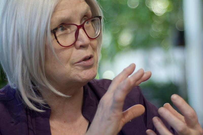 Award-winning St. John's poet laureate and retired Memorial University English professor Mary Dalton. –CONTRIBUTED PHOTO BY BOJAN FURST  - Contributed
