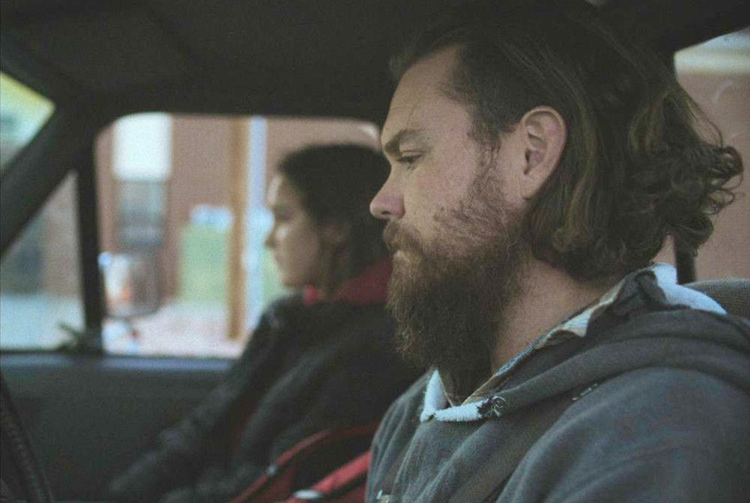 Sepideh Moafi and Clayne Crawford in The Killing of Two Lovers.