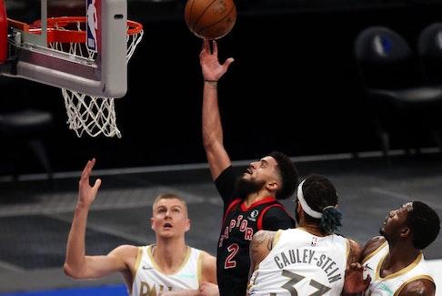 Raptors rookie Jalen Harris had a career night against his hometown Dallas Mavericks.