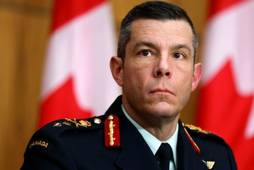 Major General Dany Fortin  has stepped down from his role as vice-president of logistics and operations at the Public Health Agency of Canada.