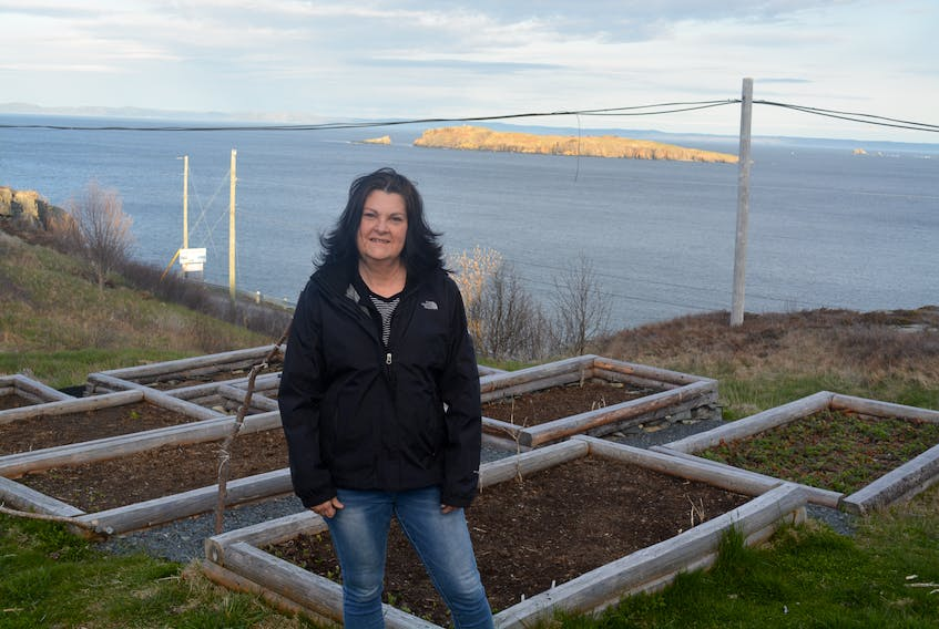 Carbonear resident Greta LeShane hopes to one day turn her garden into a destination for tourists in the region.