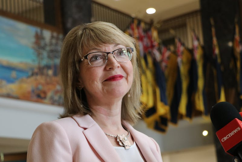 Lisa Dempster, minister responsible for Indigenous Affairs and Reconciliation, will be holding public consultations this week in Buchans, Millertown and Buchans Junction regarding a new name for Red Indian Lake. — Glen Whiffen/SaltWire Network