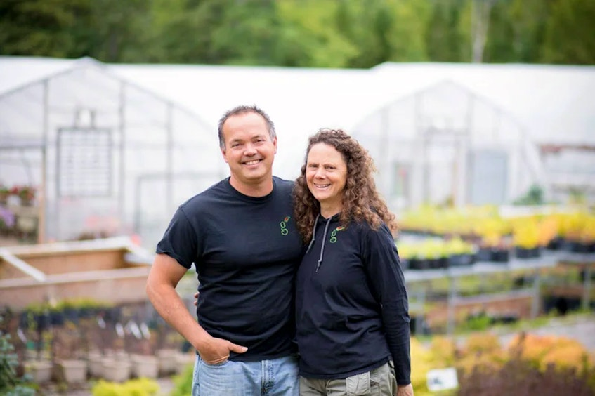 Sean Dolter and Kim Thistle of the Greenhouse in Little Rapids. — thegreenhouse.ca