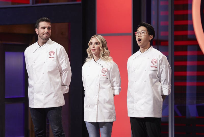 The moment of truth, when MasterChef Canada: Back to Win finalists Andy Hay, Thea Vanherwaarden and Christopher Siu learn who the judges have selected as the season's grand winner. - CTV/Bell Media