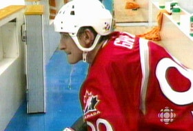 Wayne Gretzky, sits alone on the bench at the 1998 Winter Olympics after Team Canada lost to Czech Republic. The following year Hockey Canada held a summit on the state of the game.