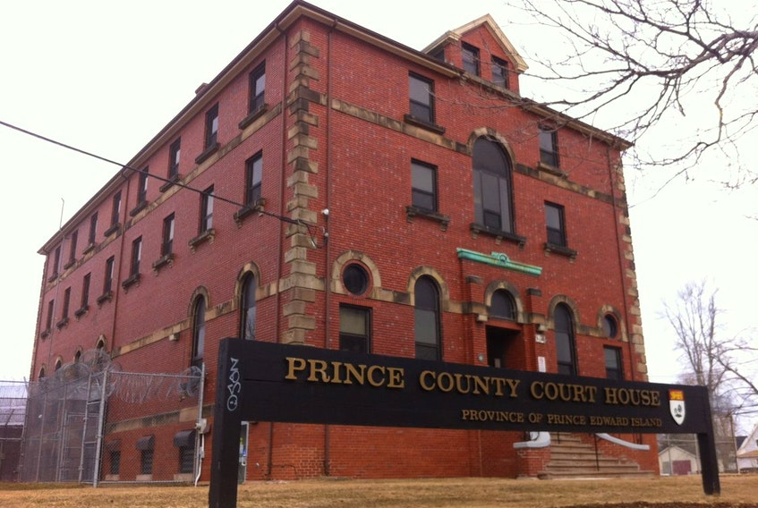 Prince County Court House in Summerside, P.E.I.
