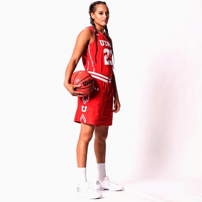 Former University of Utah star Daneesha Provo recently completed her first professional season in Germany with Eisvögel USC Freiburg. She topped the Damen Basketball Bundesliga, Germany's top women's pro league, in scoring with 20.41 points per game. - UNIVERSITY OF UTAH