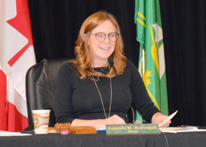 Mayor Amanda McDougall insists there is nothing nefarious going on behind the scenes with the CBRM's nominating committee in deciding who will sit on the Port of Sydney's board of directors. FILE
