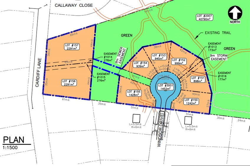 Stratford town council approved one additional lot at the end of Windsor Drive and two lots on Cardiff Lane for the second phase of the Foxwoods subdivision.  - CONTRIBUTED
