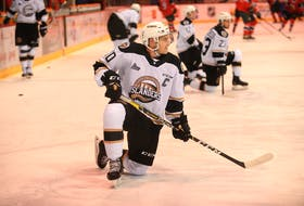 Brett Budgell is the Charlottetown Islanders captain. He centres the top line and plays on both special team units.