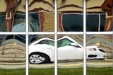 "The Telegram's Keith Gosse is receiving a Photojournalism/Feature award nomination for this ""Distorted Driving"" photo. Gosse is getting the nod for three of 13 nominations for SaltWire journalists."