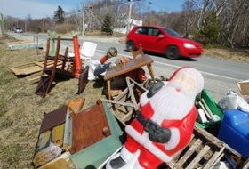 The current spike in Nova Scotia's COVID-19 cases and the provincewide lockdown in effect has forced Victoria County to push back its heavy garbage collection until the fall. CAPE BRETON POST FILE