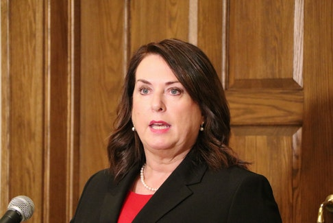 Provincial Finance Minister Siobhan Coady
