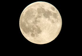 A perigee full moon or supermoon is seen in August 2014 in Washington. A supermoon occurs when the moon's orbit is closest (perigee) to Earth at the same time it is full. - NASA/Bill Ingalls
