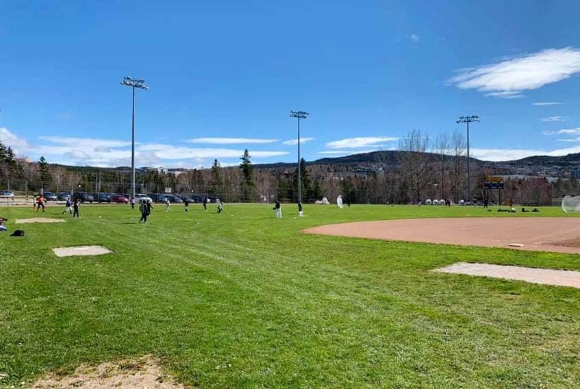 The Corner Brook Baseball Association has cancelled all sessions for the rest of this week after some of its staff and executive members were exposed to COVID-19. Image from Facebook