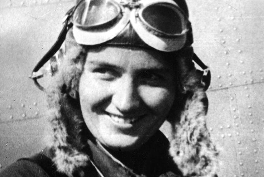 The Russian 588th bomber squadron was staffed entirely by women and led by the intrepid pilot Maria Raskova. CONTRIBUTED