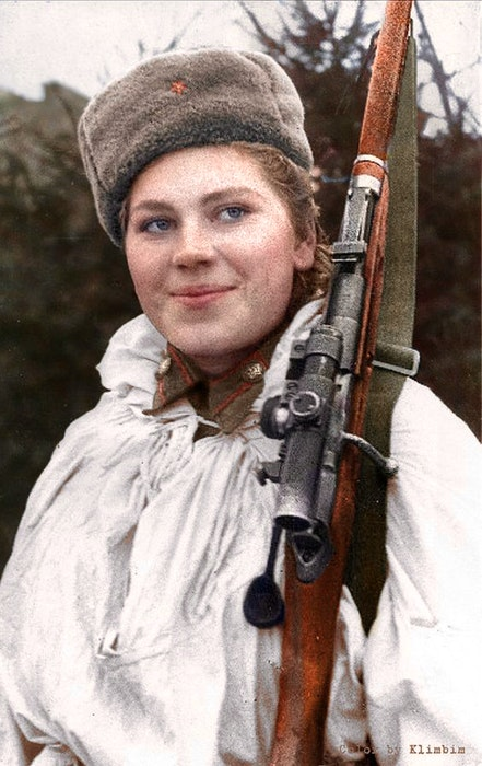 Sniper Roza Shanina enlisted in the Russian Army at age 18 and over the course of two years killed 59 Germans. CONTRIBUTED - Contributed