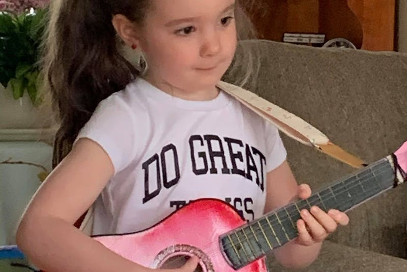 Ross Tilley has a dream of one day writing a song for him and his granddaughter Gia to perform together.  — Contributed