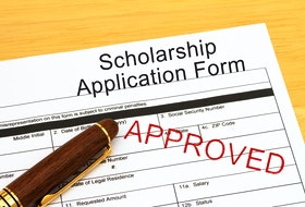 The deadline for scholarship applications is approaching quickly.
