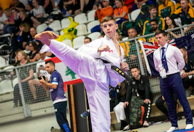 Ryan O'Neil of Halifax is one of eight athletes selected by Karate Canada to represent the country at the World Karate Federation's Olympic Qualification Tournament next month in Paris. - Contributed