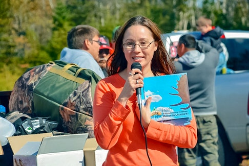 Before she worked at the Unama'ki Institute of Natural Resources, Lisa Young was a biologist with the Eskasoni Fish & Wildlife Commission. CONTRIBUTED