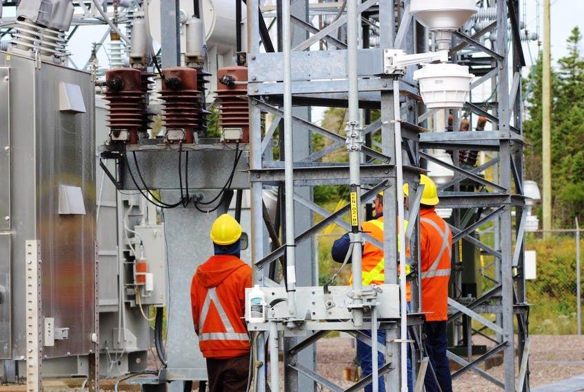 Newfoundland Power said a new substation, with transmission lines, in the Airport Heights neighbourhood of St. John's would help serve the growing area of St. John's North.