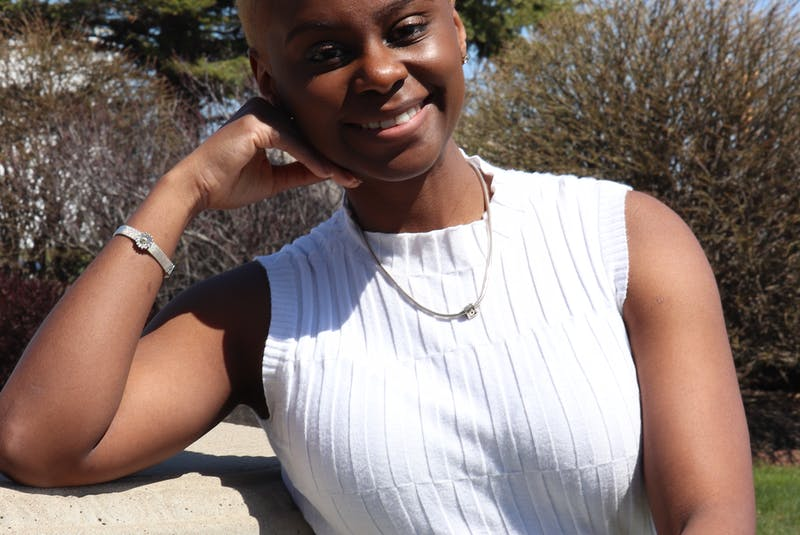 Chryshawnda Adams was the Holland College student union president during the 2020-2021 school year. - Logan MacLean
