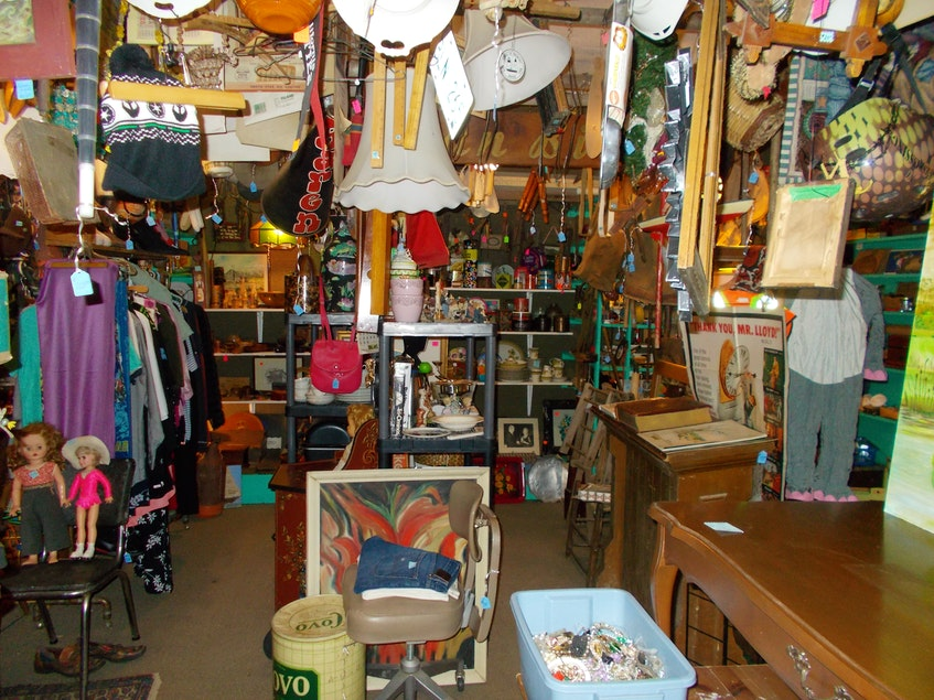 There are thousands of treasures on display at Beans Cool Old Junk Shop, including a mix of antiques and other items that piqued the interest of owners Ron and Sheri Walker. - Contributed