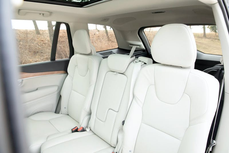 PHEVs with three rows are currently limited to a small handful of luxury models, including the 2021 Volvo XC90 Recharge Inscription Expression. Clayton Seams/Postmedia News - POSTMEDIA