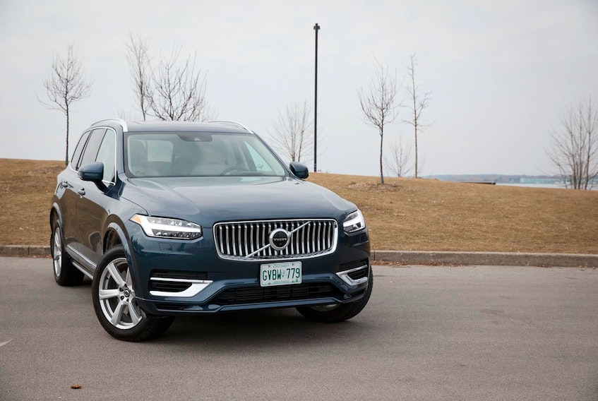 Choosing a plug-in hybrid, like the 2021 Volvo XC90 Recharge Inscription Expression, lets you test electrification without fully committing to the plug. Clayton Seams/Postmedia News