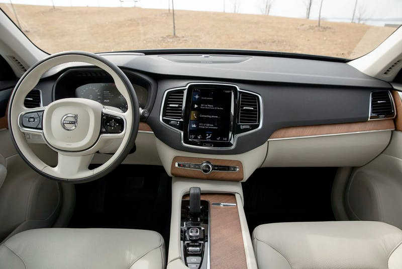 The 2021 Volvo XC90 Recharge Inscription Expression comes with a solid set of interior features along the lines of what you'd expect to find at this price point. Clayton Seams/Postmedia News - POSTMEDIA