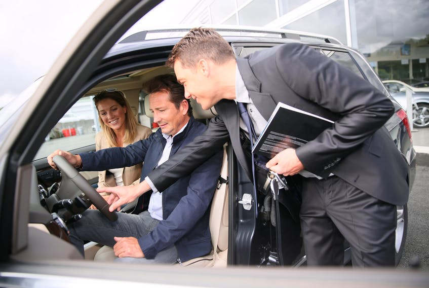 """""""Dealers want to sell cars. A cash buyer is welcome,"""" says George Iny, president of the Automobile Protection Association. 123rf stock photo"""