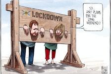 Bruce MacKinnon's editorial cartoon for May 22, 2021.