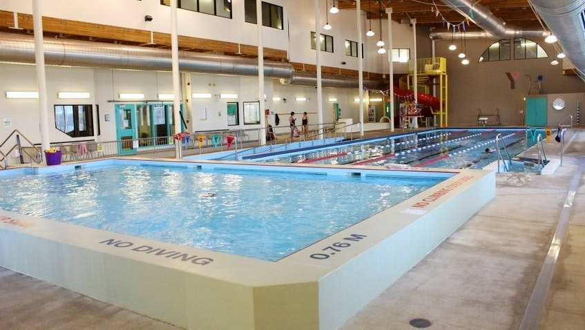 The YMCA pool in the Basinview Centre. - CONTRIBUTED