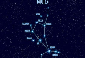 Arcturus, part of the Bootes constellation, is the brightest star in the Northern Sky. It's visible the week of May 31 between 9-10 p.m. AST.