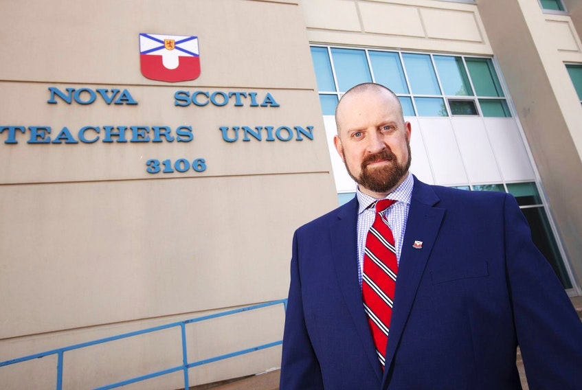 NSTU president Paul Wozney said the union was not consulted before making the announcement to reopen schools. - SaltWire file